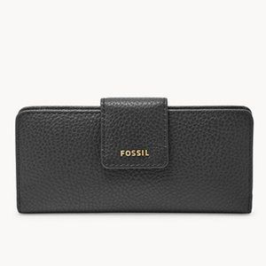 FOSSIL Madison Slim Clutch Leather Wallet